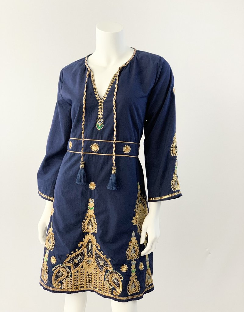 La plage Diya Embroidered Dress