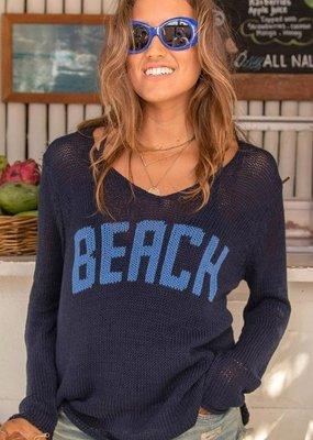 WOODEN SHIPS Beach V neck