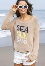 WOODEN SHIPS Sea Sun Sand Crewnk