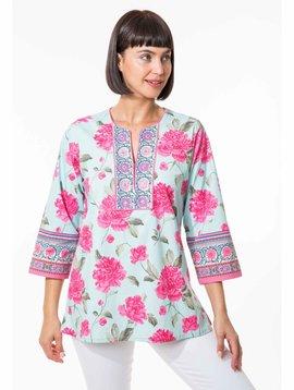 BELLA TU Peony T Shirt Dress