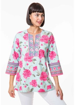 BELLA TU Peony T Shirt Dress