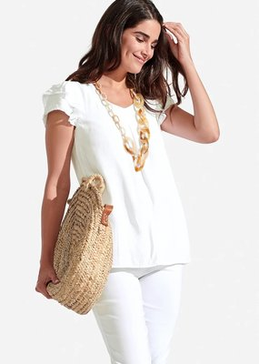 PERSIFOR Solid Clare Top