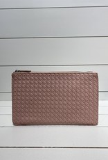 PREPPY GIRL Clutch baby pink