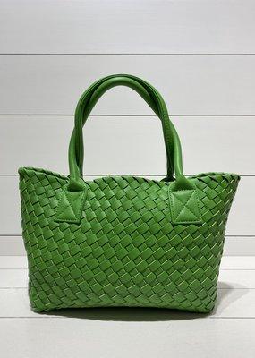PREPPY GIRL Market Bag Mini Apple Green