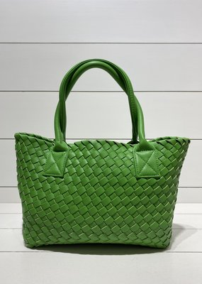 PREPPY GIRL Market Bag Mini green