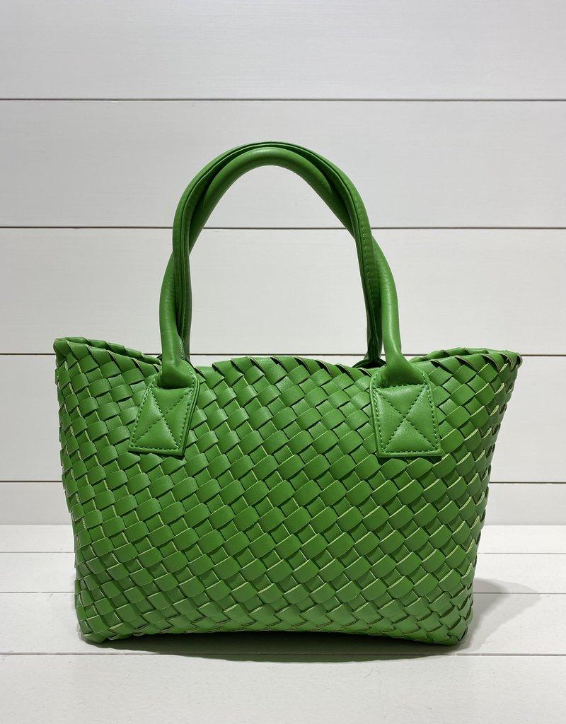 PREPPY GIRL Market Bag Mini green
