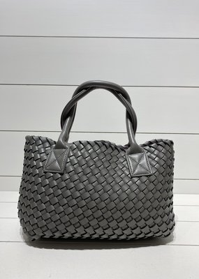 PREPPY GIRL Market Bag Mini grey