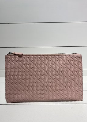 PREPPY GIRL Envelope clutch baby pink