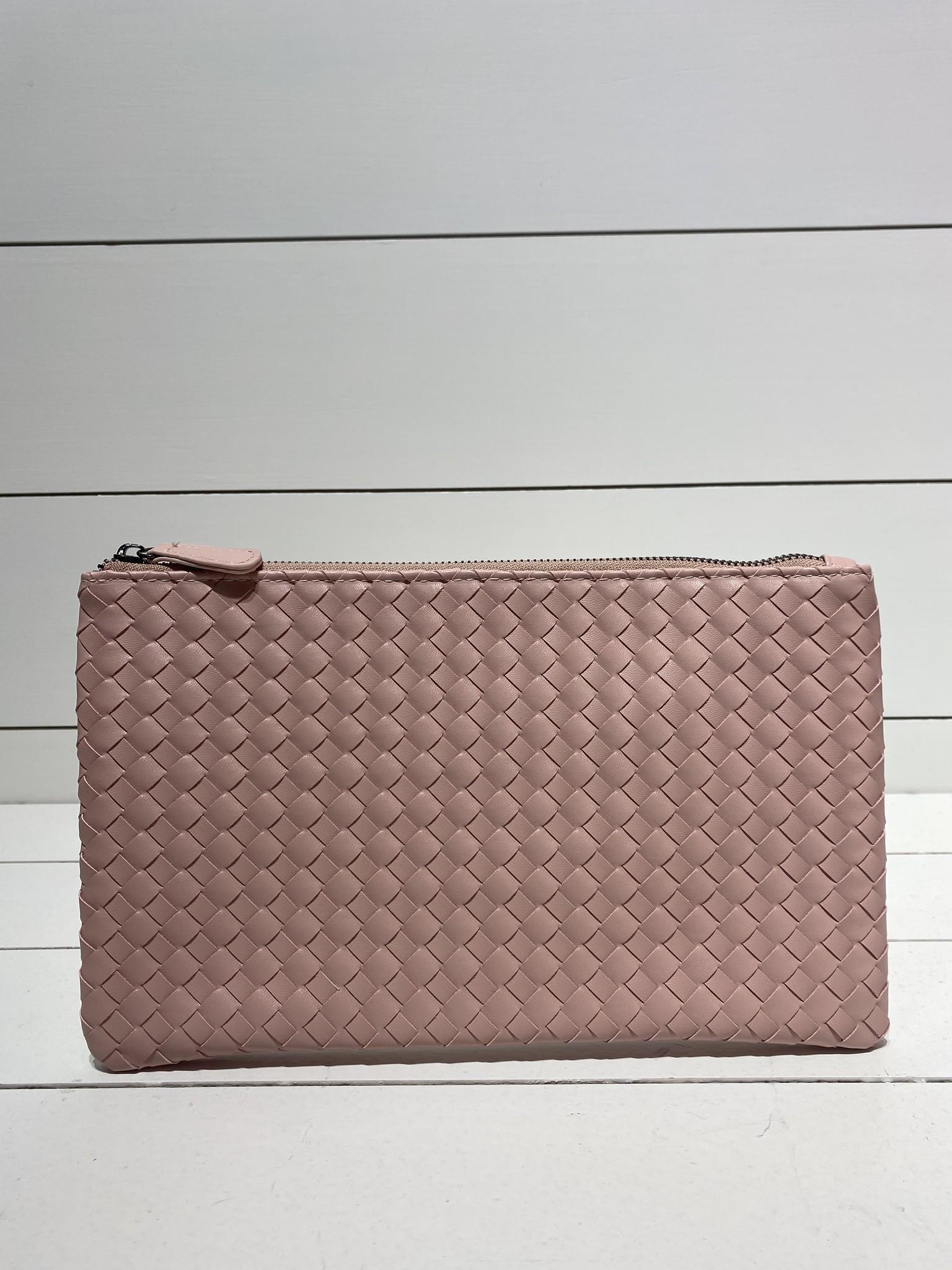 Envelope clutch baby pink