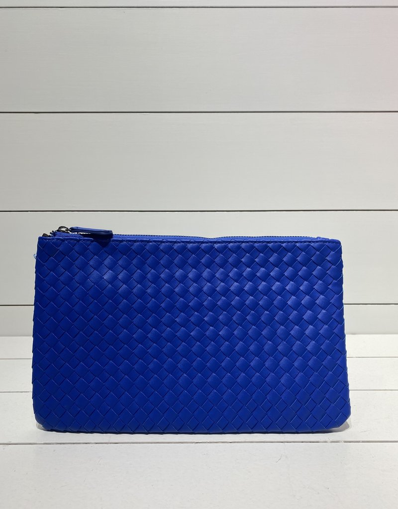PREPPY GIRL Envelope clutch royal