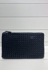 PREPPY GIRL Envelope clutch black