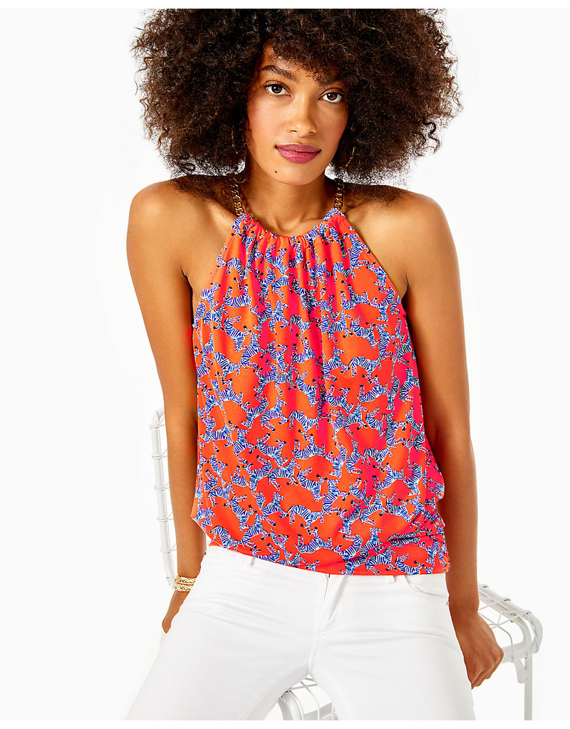 LILLY PULITZER F20 002720 BOWEN TOP