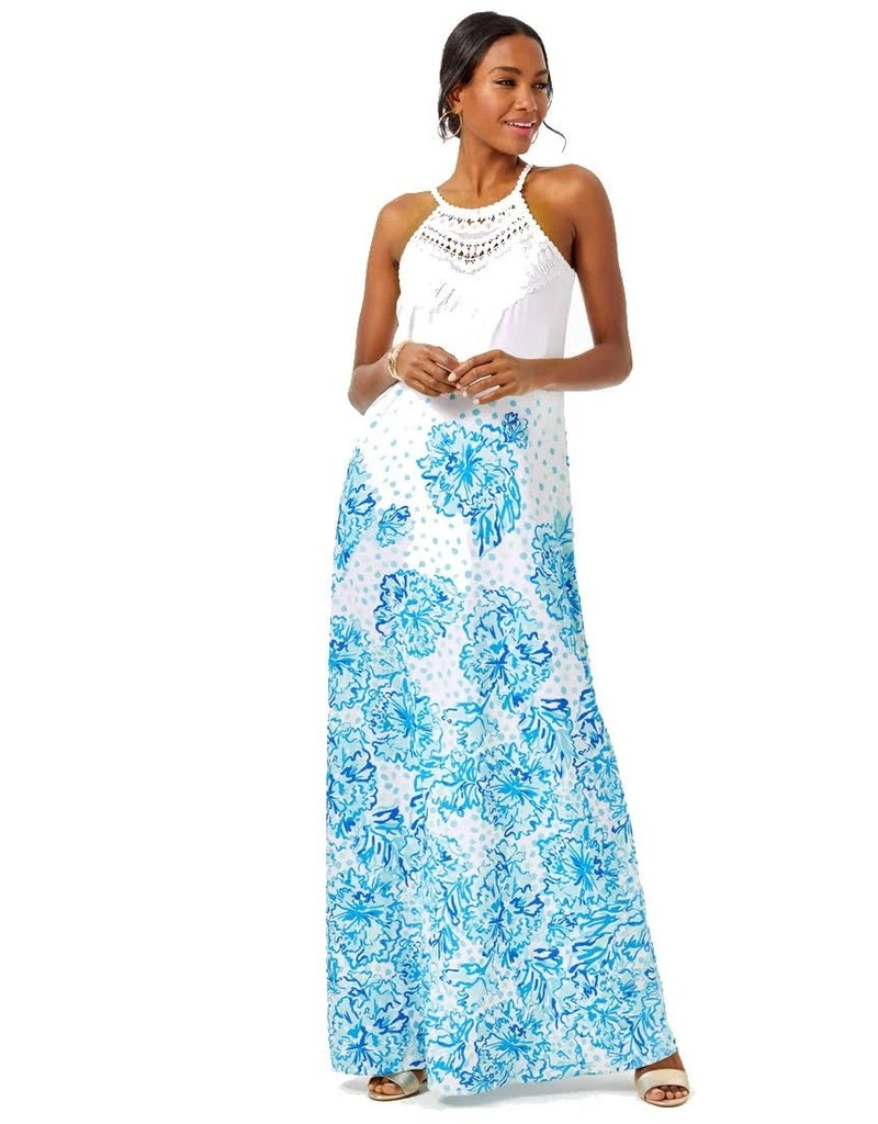 LILLY PULITZER PEARL SOFT MAXI DRESS