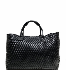 PREPPY GIRL Market bag Black Shimmer