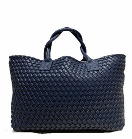 PREPPY GIRL Market bag Navy