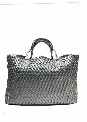 PREPPY GIRL Market bag Silver