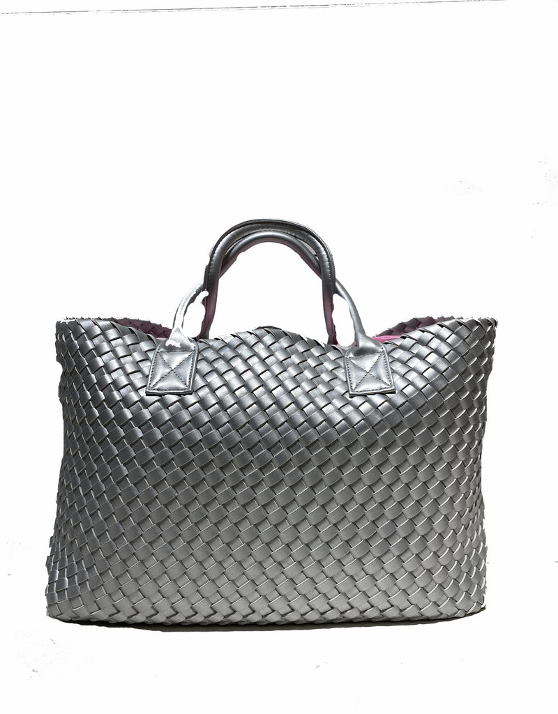 PREPPY GIRL Market bag Silver