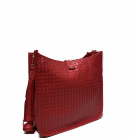 PREPPY GIRL Crossbody bag Red