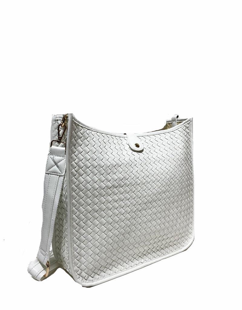 PREPPY GIRL Crossbody bag White