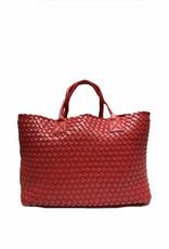 PREPPY GIRL Market bag Red Wine