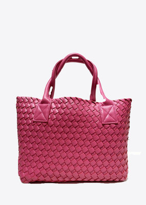 PREPPY GIRL Market Bag Mini hot pink