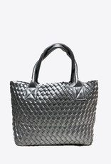 PREPPY GIRL Market Bag Mini silver