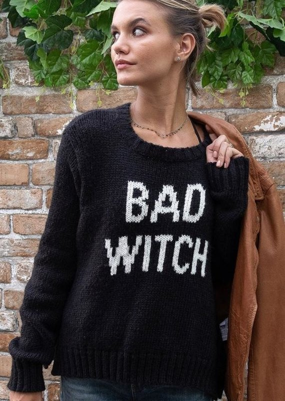 WOODEN SHIPS Bad Witch Crew Neck