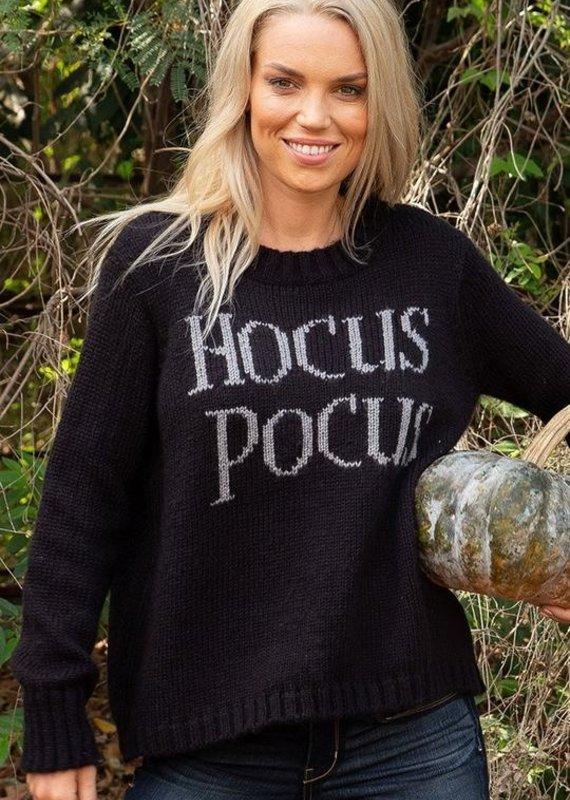 WOODEN SHIPS Hocus Pocus Crew Neck