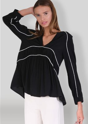 Muche et Muchette Brandy Piped Blouse