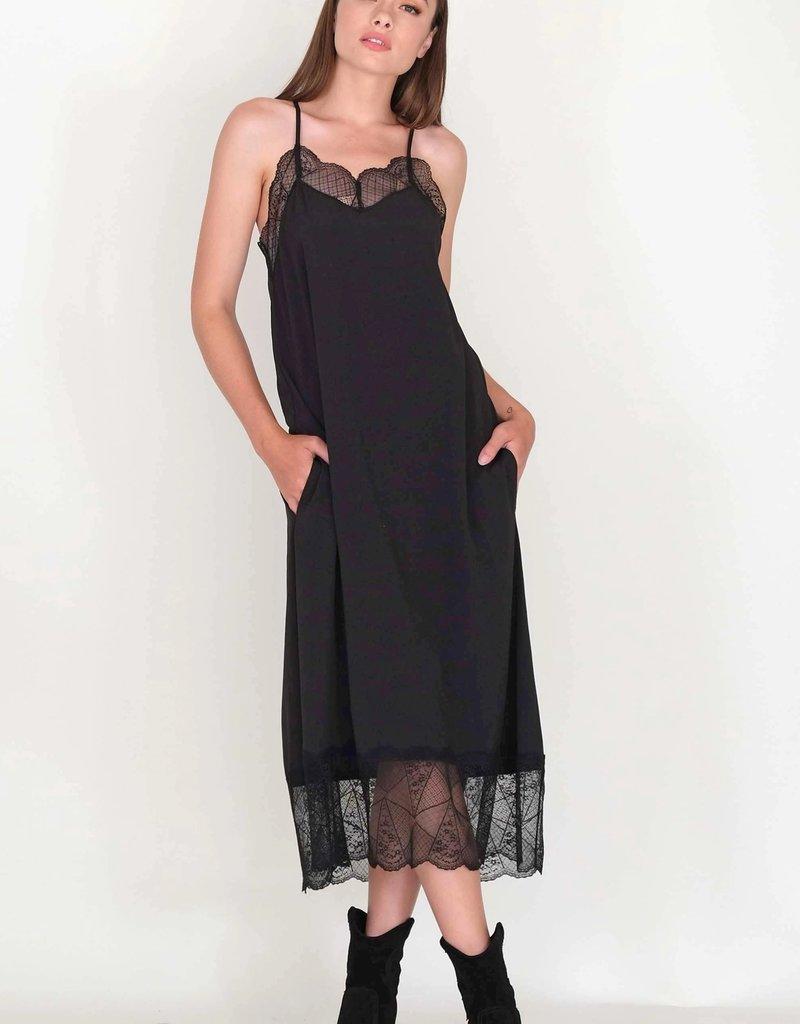 Muche et Muchette 795pn padie lace trim dress