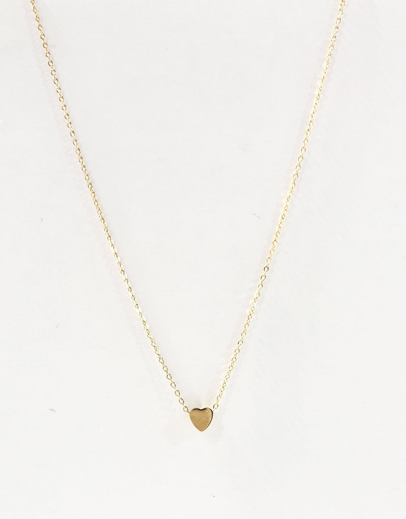 CB Designs heart necklace