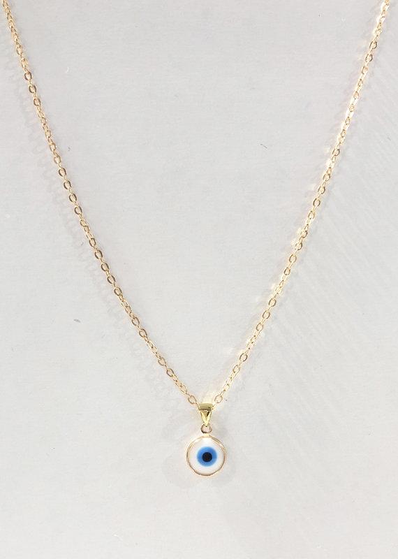 CB Designs evil eye necklace