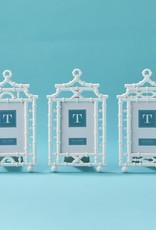 TWO'S COMPANY White Pagoda Frame 4 x 6