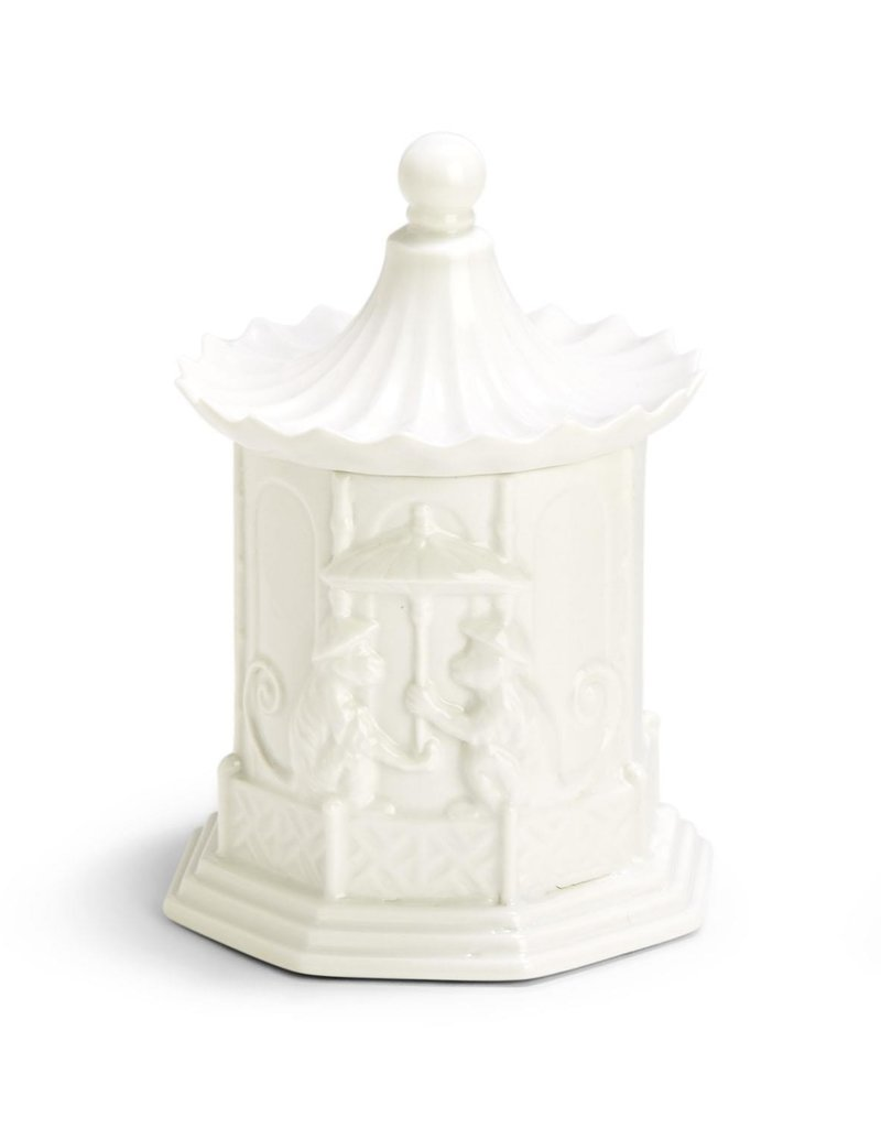 TWO'S COMPANY Pagoda Candle