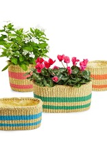 TWO'S COMPANY Round Garden Planter Small