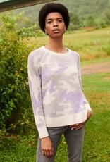 WHITE + WARREN 18842 thermal sweatshirt