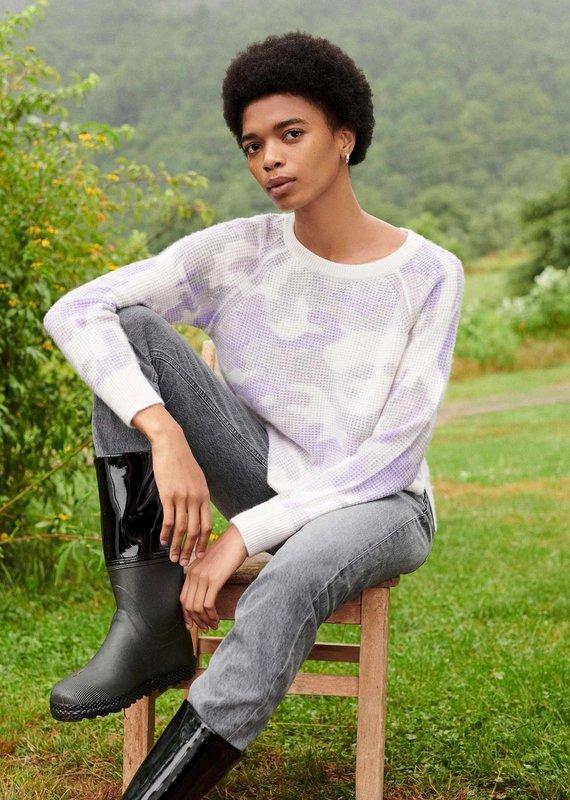 WHITE + WARREN Thermal Sweatshirt