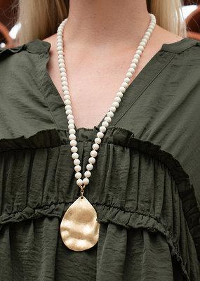 PREPPY GIRL Teardrop Necklace