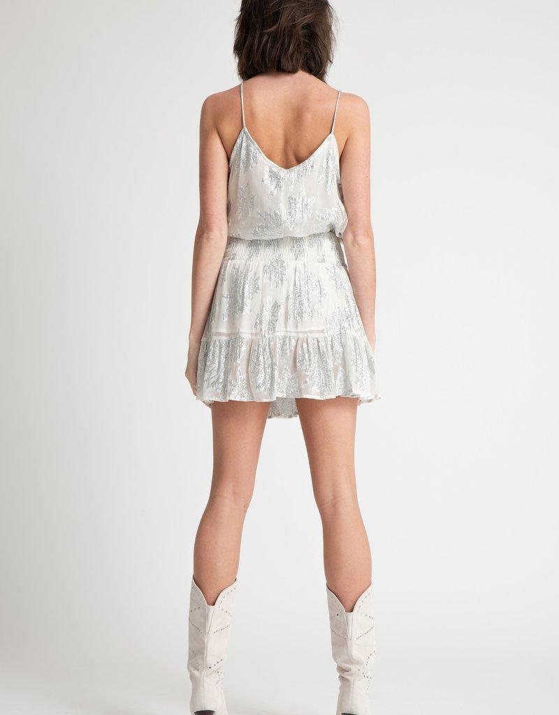 Muche et Muchette 1090ms marquise ruffle hem mini skirt