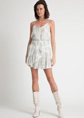 Muche et Muchette Marquise Ruffle Hem Mini Skirt