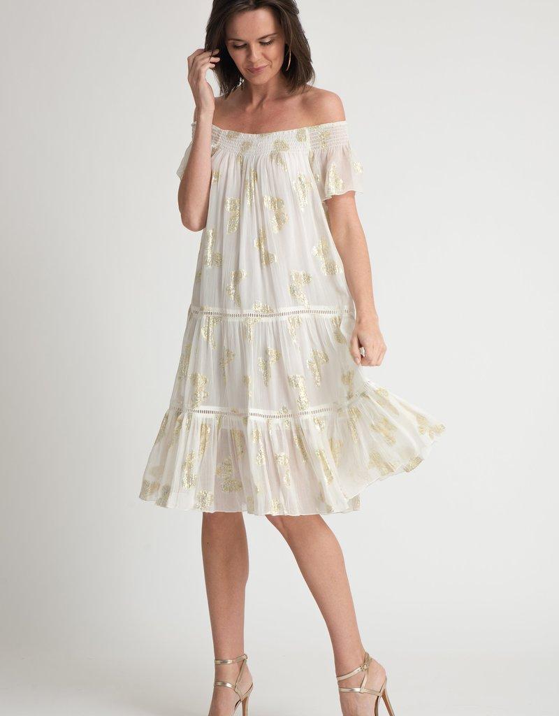 Muche et Muchette 1081 papillion lurex dress