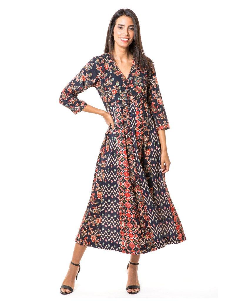 """BELLA TU mel-d50 melia 50"""" dress"""