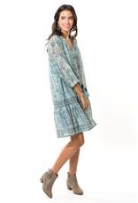 """BELLA TU cor-dp36 Cora 36"""" Peasant Dress"""