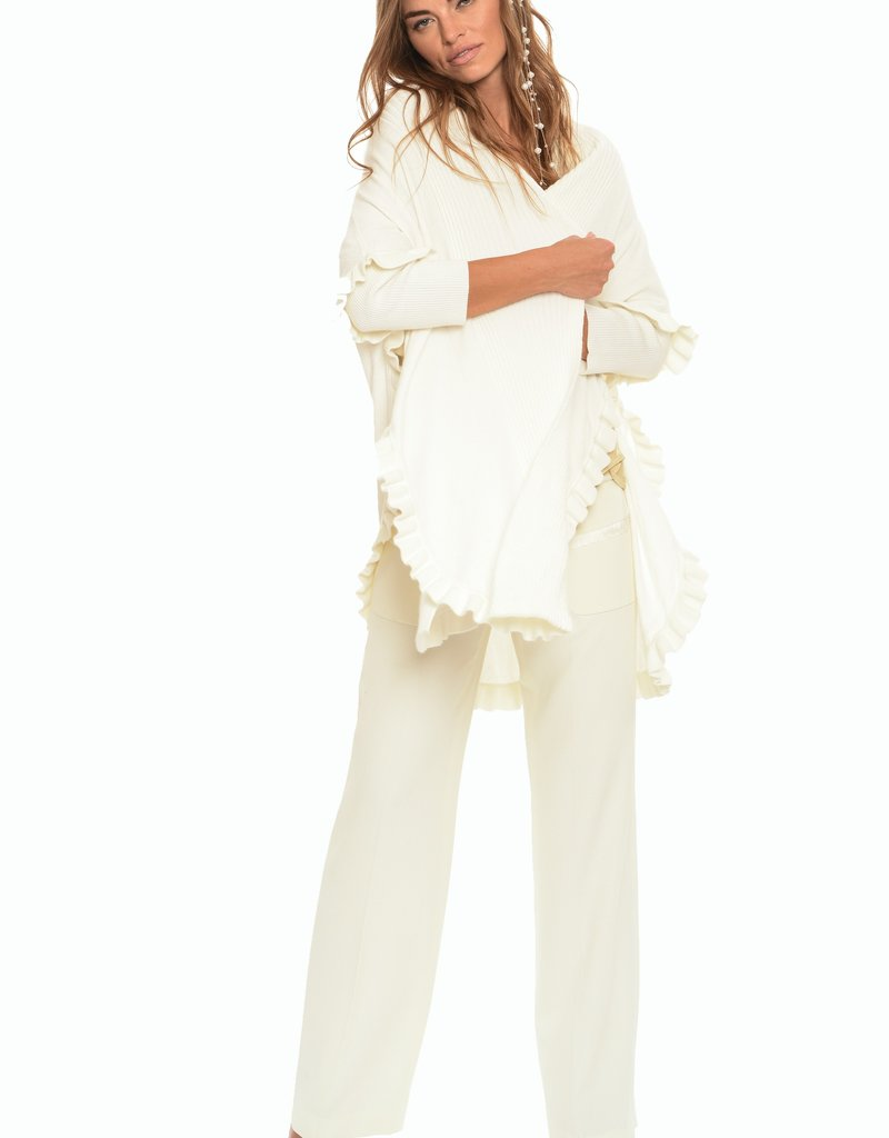 Muche et Muchette 1109ma mademoiselle draped cardigan