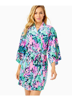 LILLY PULITZER ELAINE VELOUR ROBE