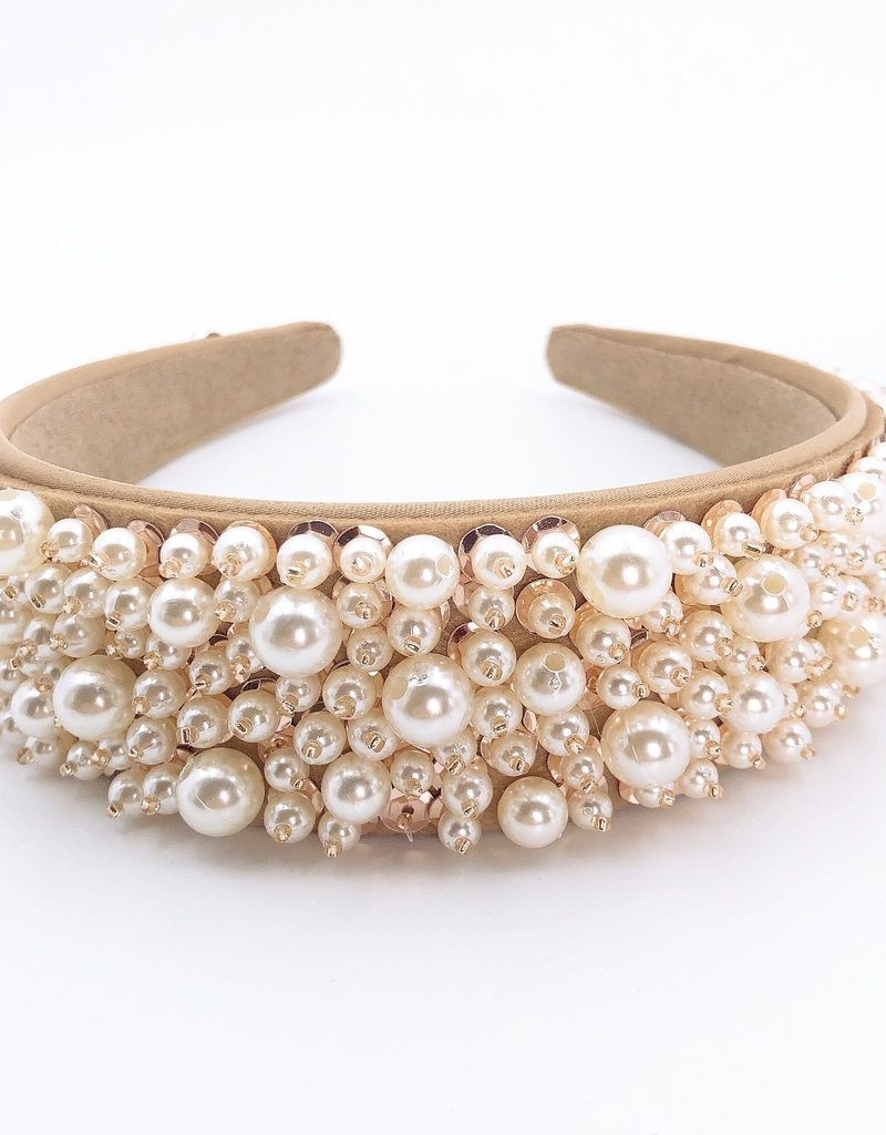 Pearl Queen Headband