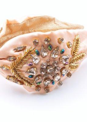 Nude Crystal Headband