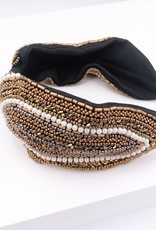 Diane Black Headband