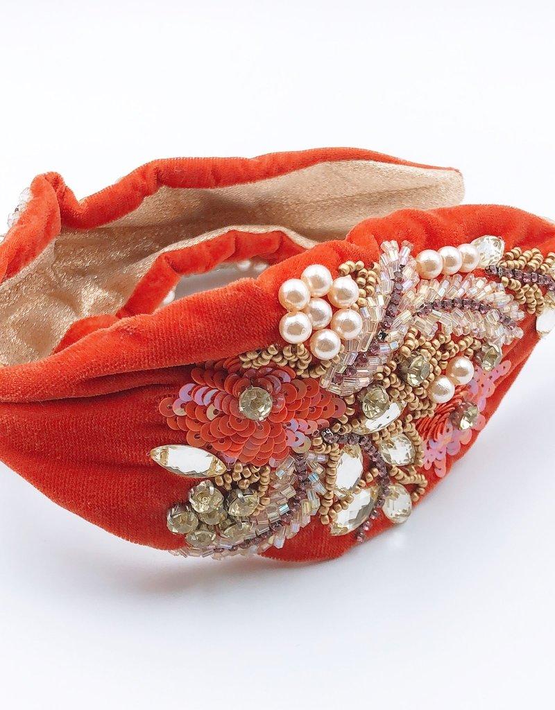Burn Orange Headband