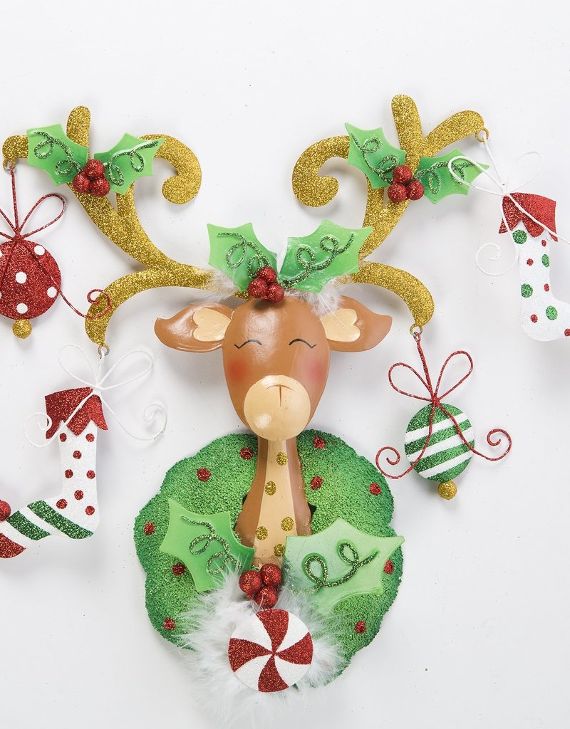 orn1246 reindeer ornament